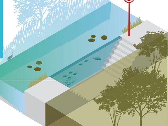 Natuurmonumenten concept 2 waterwall
